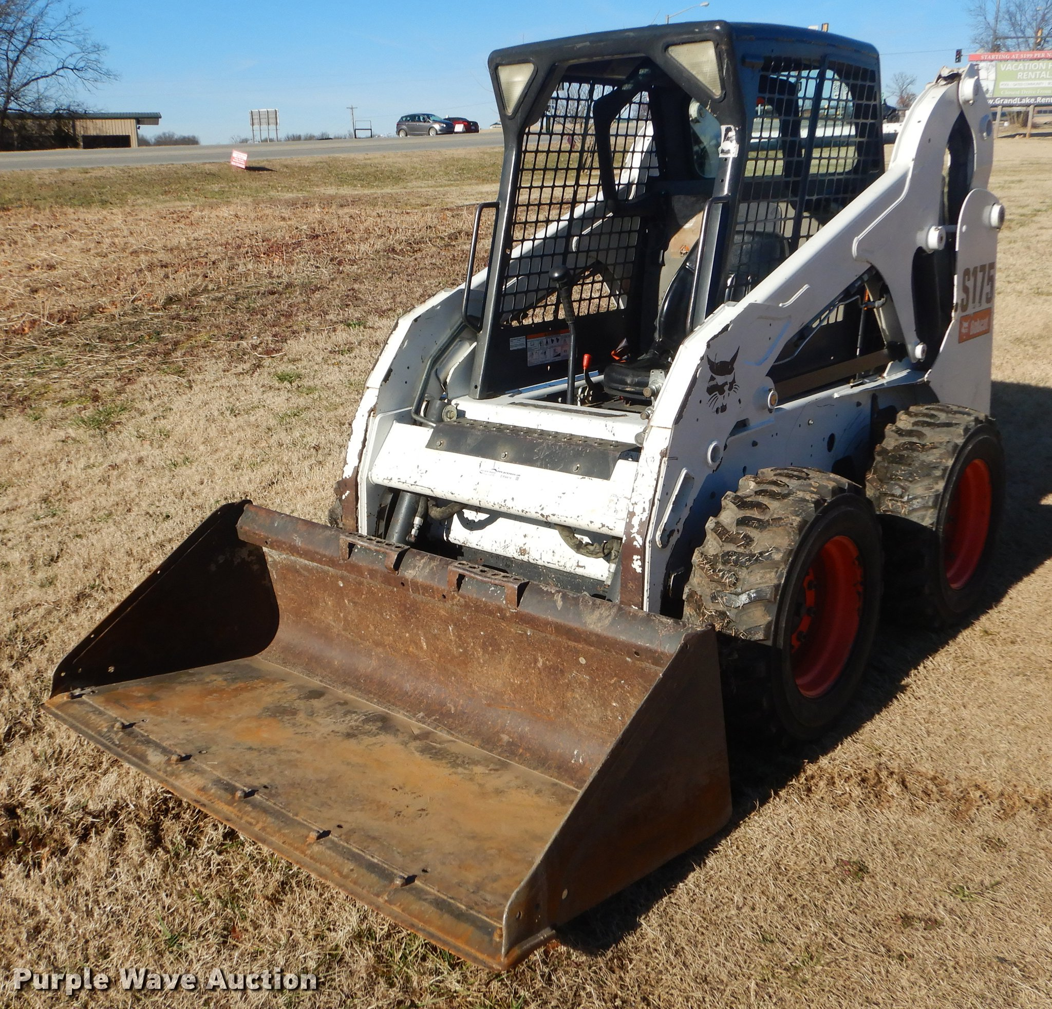 2012 Bobcat S175 skid steer | Item ER9416 | Thursday Februar