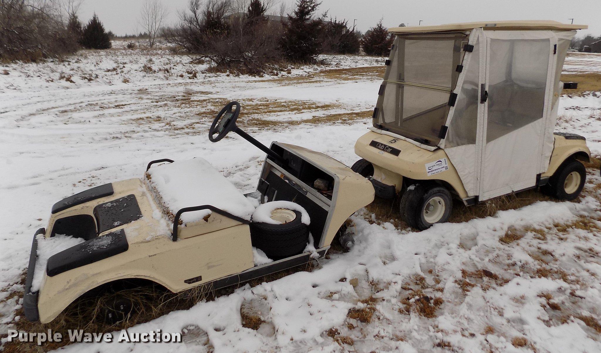 Club Car Golf Cart Item De0439 Tuesday February 19 Gover