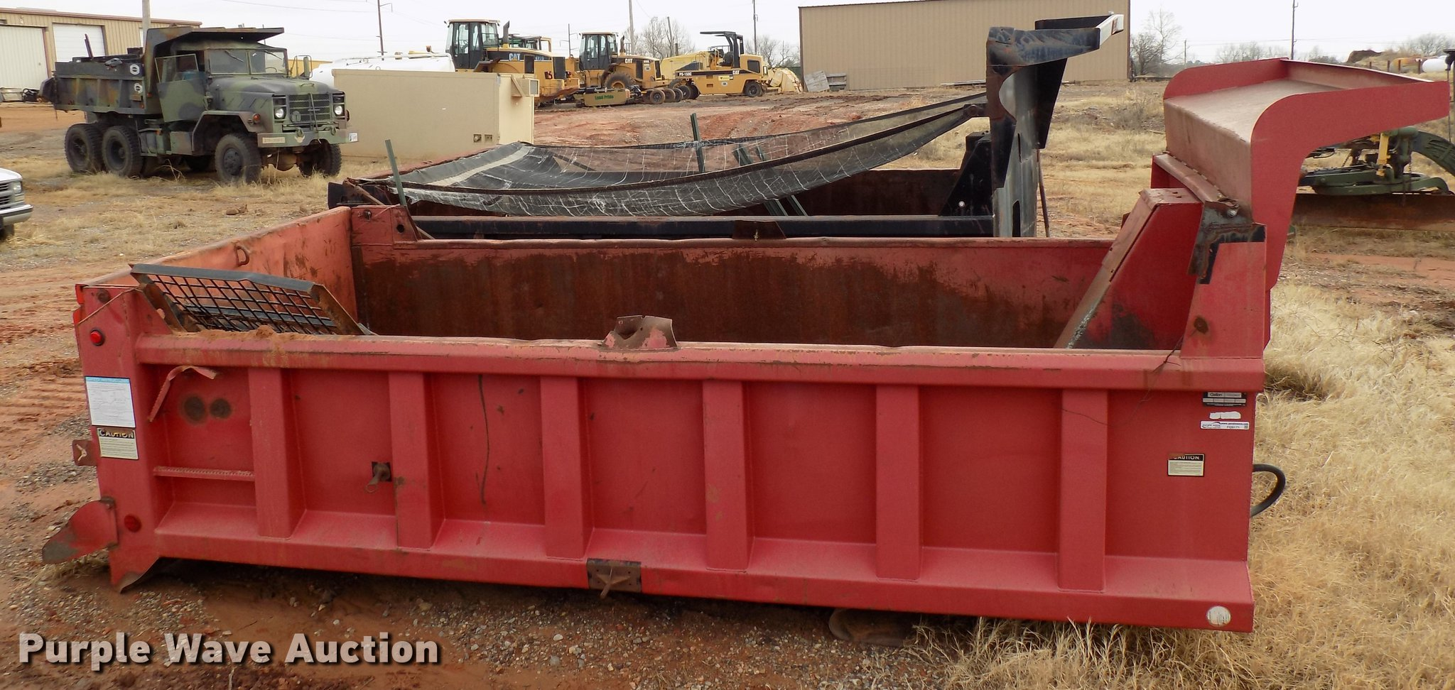 Galion Godwin 502F dump bed | Item FQ9171 | Tuesday February