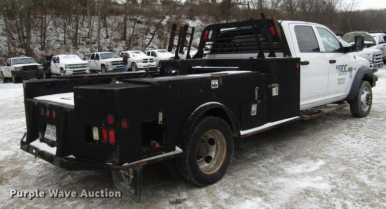 2011 Dodge Ram 5500 flatbed truck | Item DB6983 | SOLD! Febr