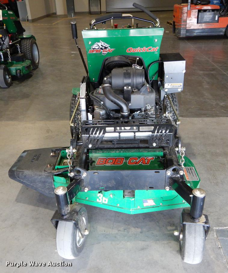 2017 Bobcat Quickcat 912360 ZTR lawn mower | Item EV9751 | S