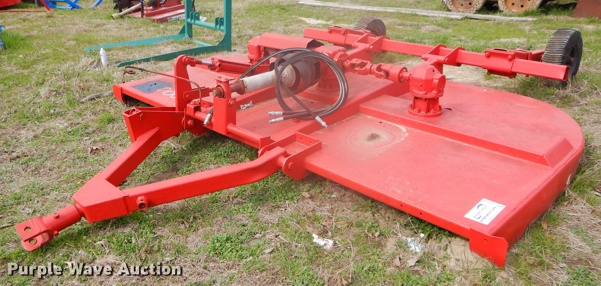 Bush Hog rotary mower | Item DC0188 | SOLD! February 27 Vehi