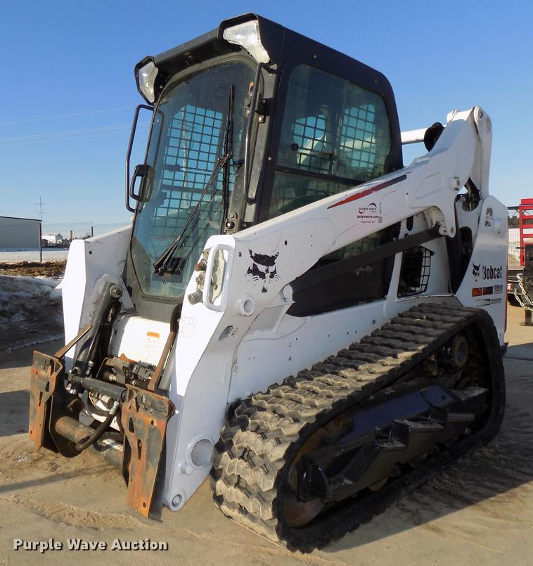 2016 Bobcat T590 skid steer | Item DE7576 | Thursday Februar