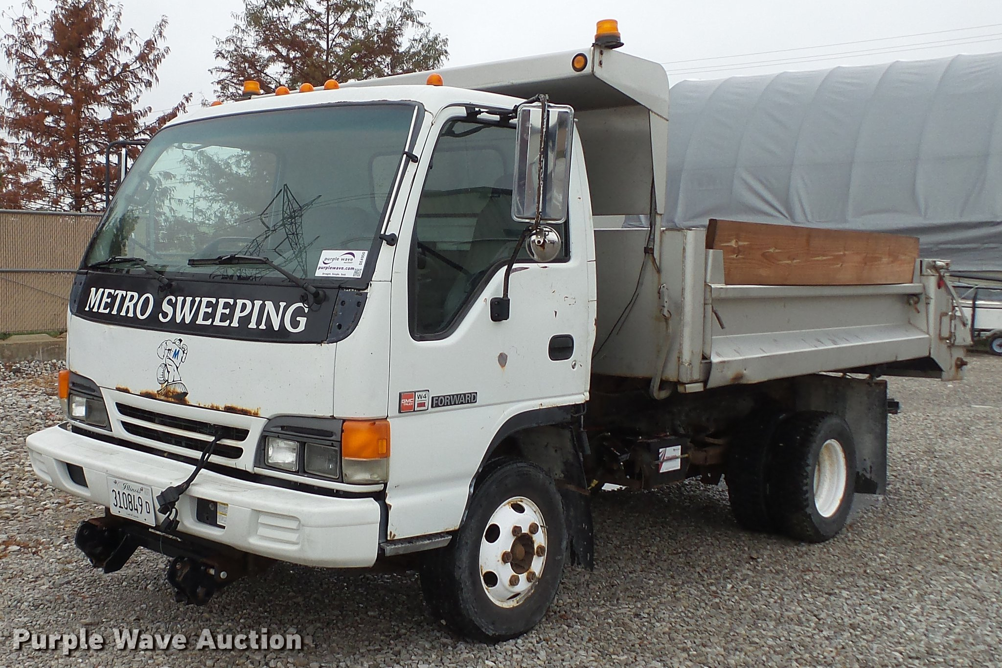 2002 Isuzu NPR dump truck | Item DE4950 | Thursday February