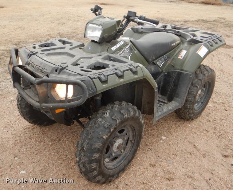2012 Polaris Sportsman 550 ATV | Item FH9016 | Wednesday Mar