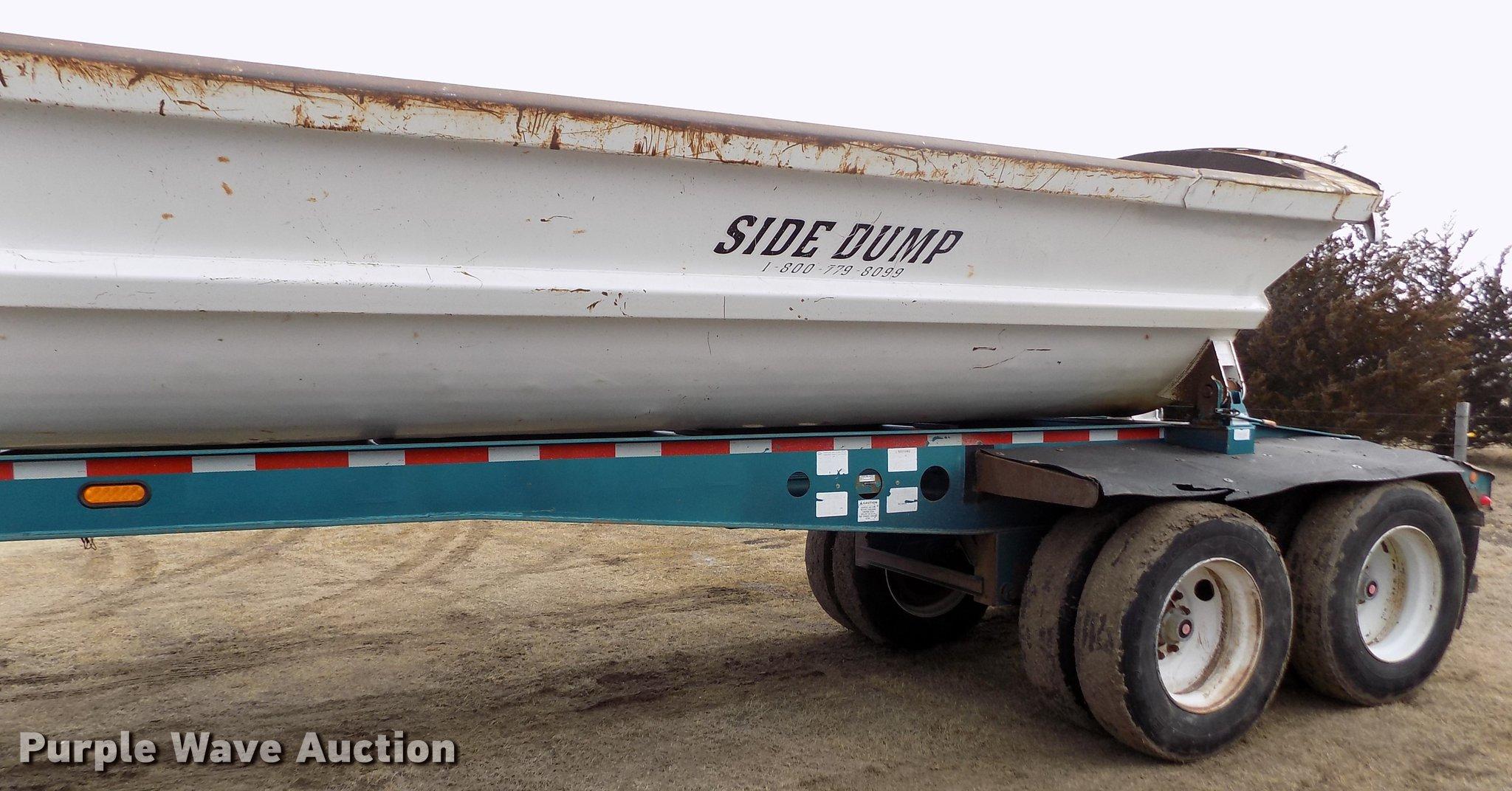 2004 Smithco 2002P side dump trailer | Item FH9035 | Thursda