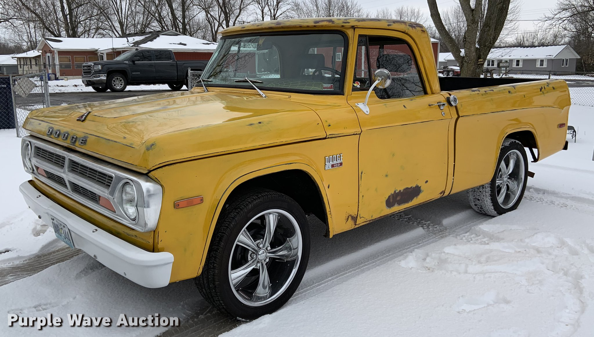 1970 Dodge D100 Pickup Truck In Sedalia Mo Item Dy9797 Sold Purple Wave