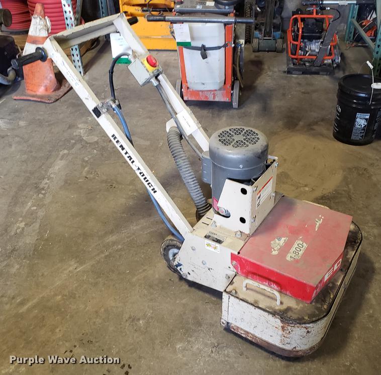 Edco 2EC-1 5B concrete grinder   Item AV9290   SOLD! March 1