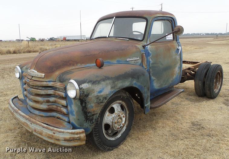 1949 Chevrolet 4100 Pickup Truck Item Df2959 Wednesday M