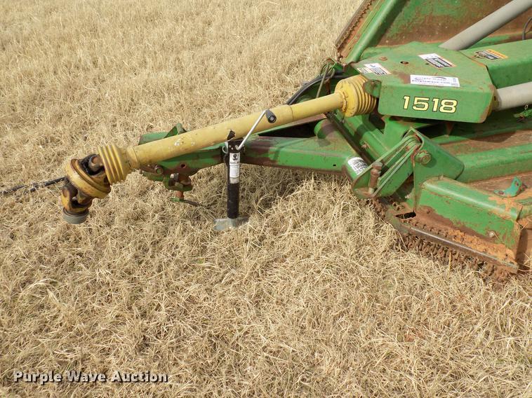 John Deere 1518 batwing rotary mower | Item DG3365 | Wednesd