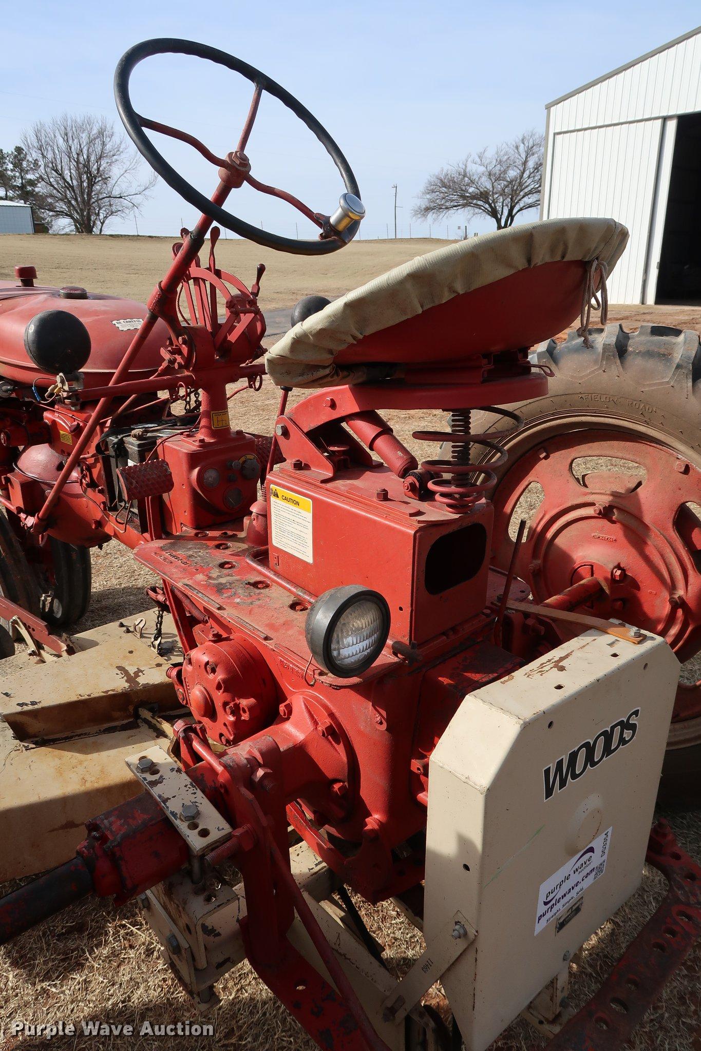 1952 Mccormick Farmall Super C tractor   Item DG3354   SOLD!