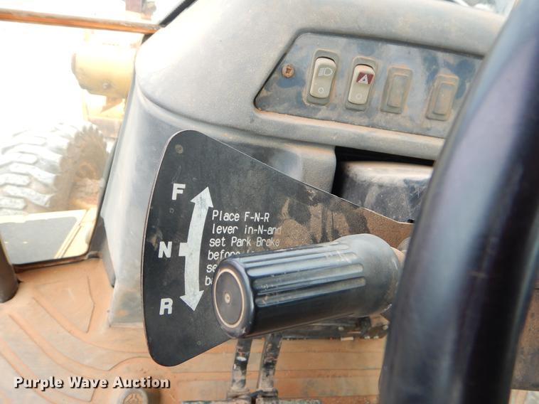2006 John Deere 310SG Backhoe Item FQ9586 Thursday March