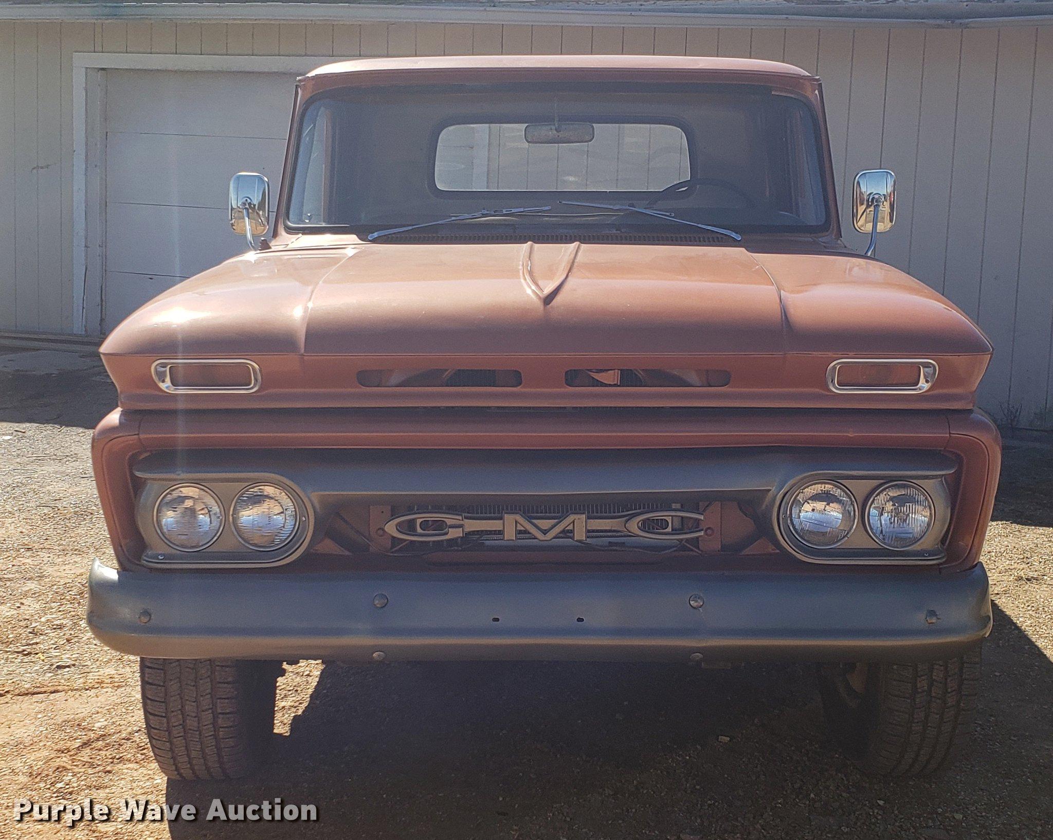1966 GMC pickup truck | Item DF3368 | SOLD! April 10 Vehicle