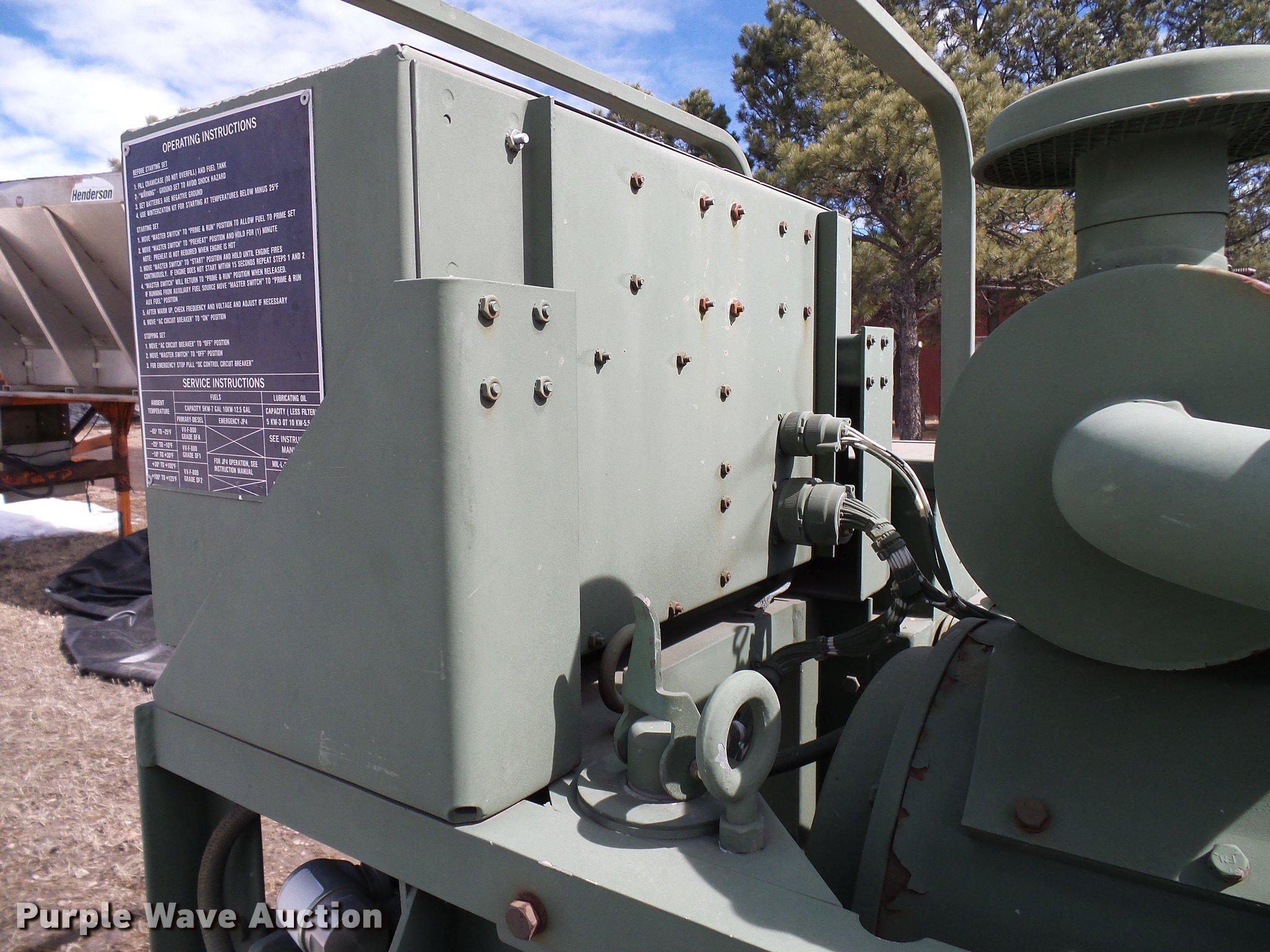 Libby Co  MEP002A generator | Item EP9587 | SOLD! April 10 V