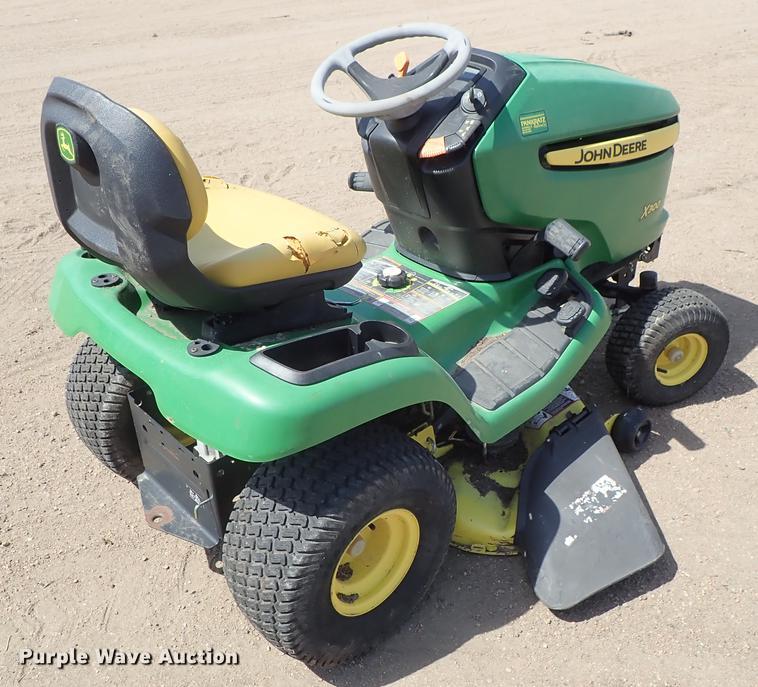 john deere x300 lawn mower in kinsley ks  item fn9809