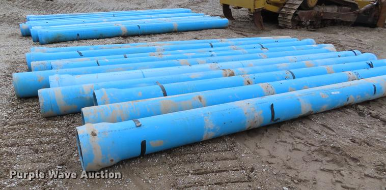 20) Under ground PVC water pipes | Item DI9407 | Wednesday