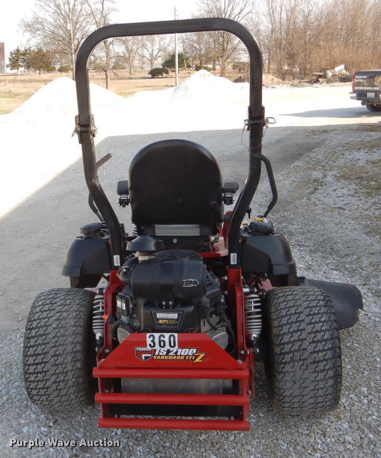 Ferris IS2100Z ZTR lawn mower | Item FI9556 | Wednesday Apri