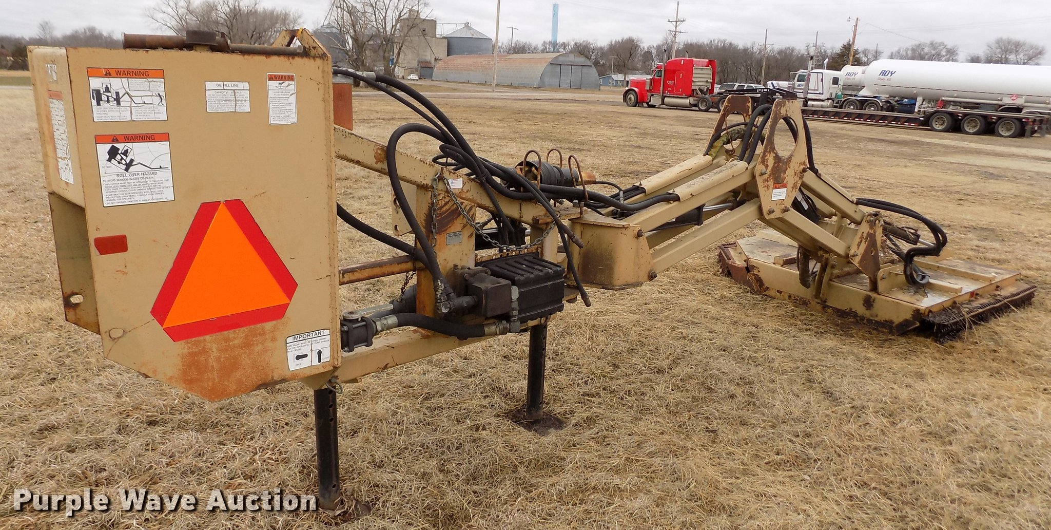 Land Pride RCP 2560 boom mower | Item FA9540 | Wednesday Apr