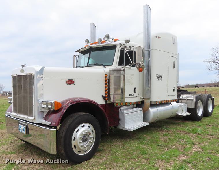 1996 Peterbilt 379 semi truck | Item L1480 | Thursday May 2