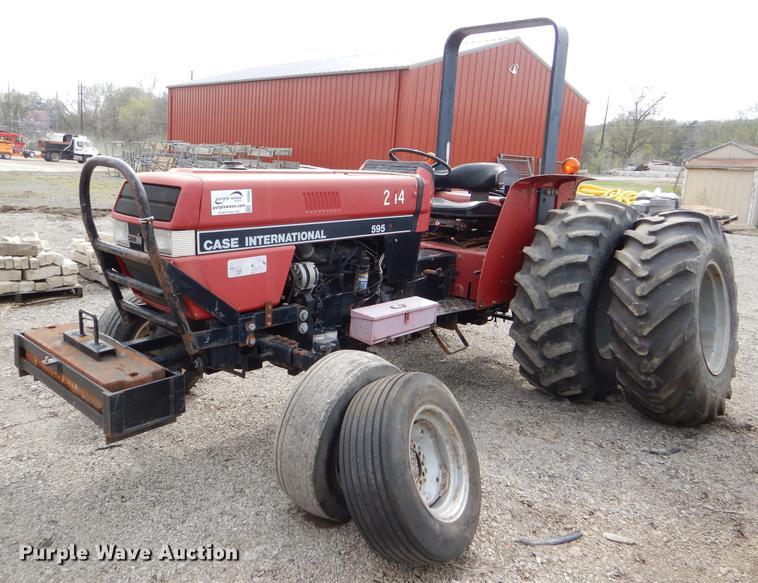 dg0962 image for item dg0962 1993 case ih 595 tractor