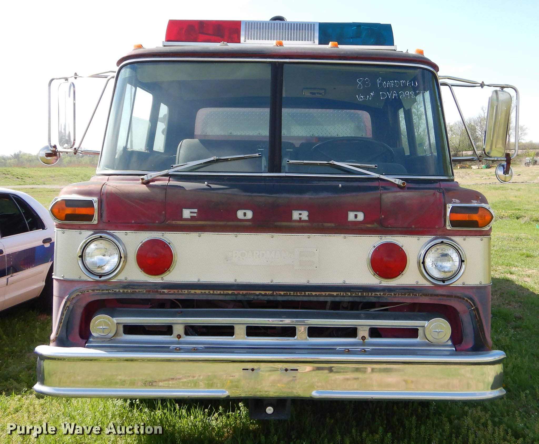 1983 ford fire truck