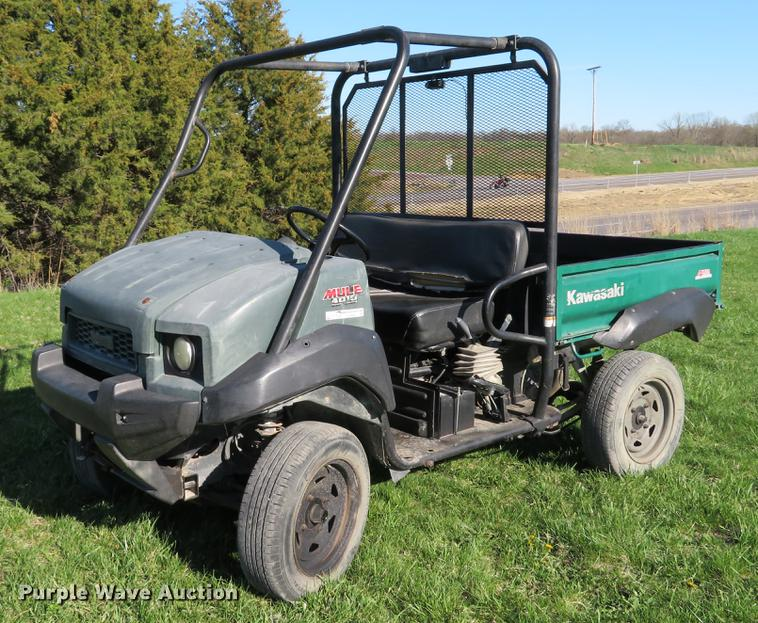 2009 Kawasaki Mule 4010 utility vehicle | Item EV9602 | Wedn