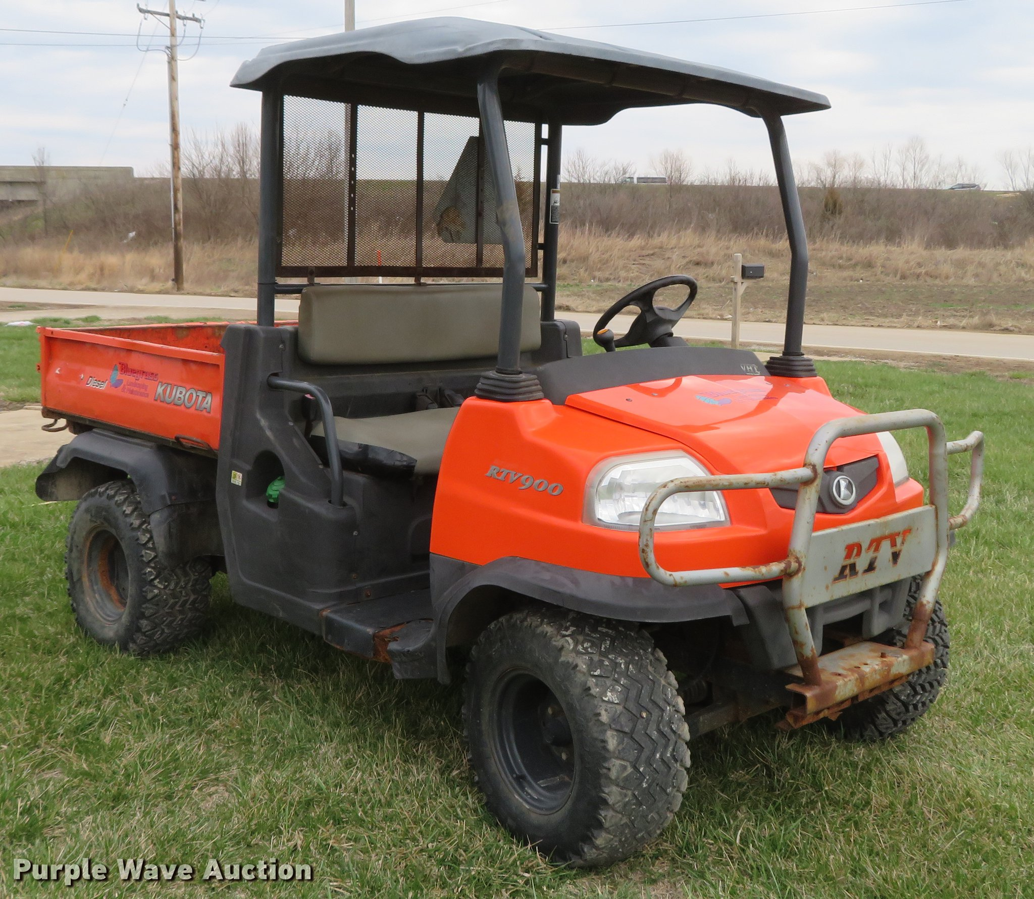 Kubota RTV900 utility vehicle | Item EV9600 | SOLD! May 8 Ve