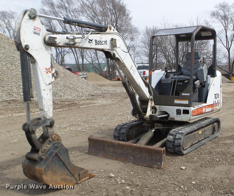 2008 Bobcat 331 mini excavator | Item EJ9066 | Thursday May