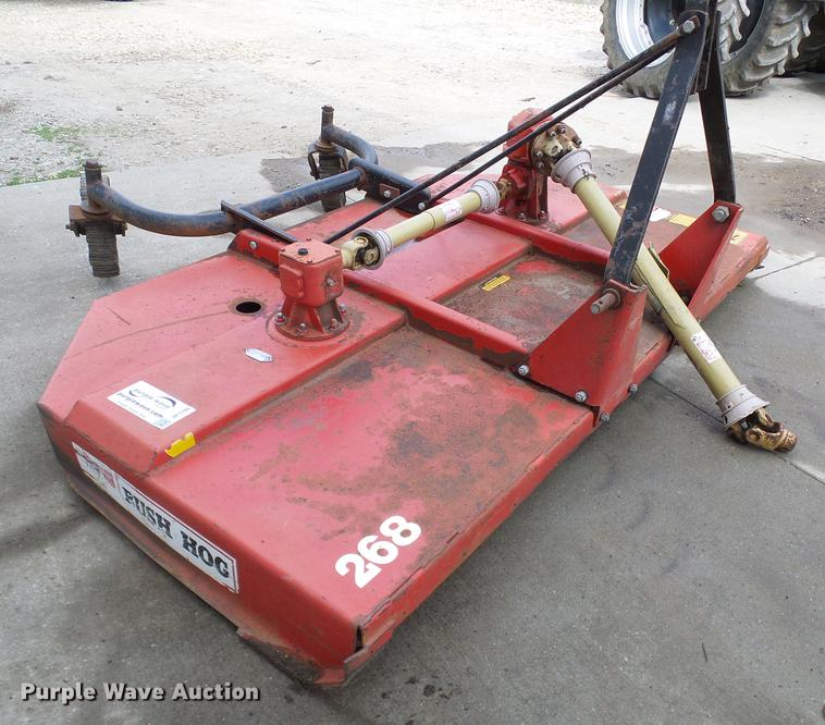Bush Hog 268R rotary mower | Item DF7199 | SOLD! May 15 Ag E