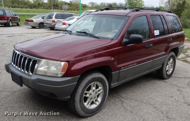 2002 jeep grand cherokee laredo suv in cameron mo item de8362 sold purple wave 2002 jeep grand cherokee laredo suv in