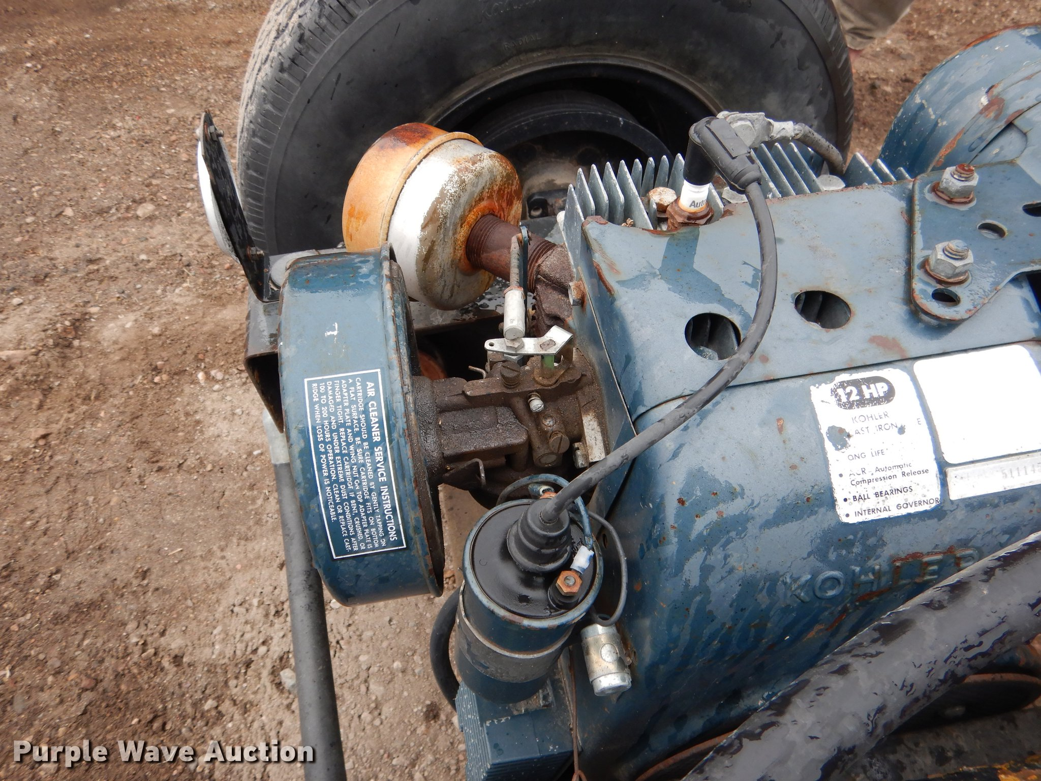Log splitter | Item DA3609 | SOLD! May 22 Vehicles and Equip