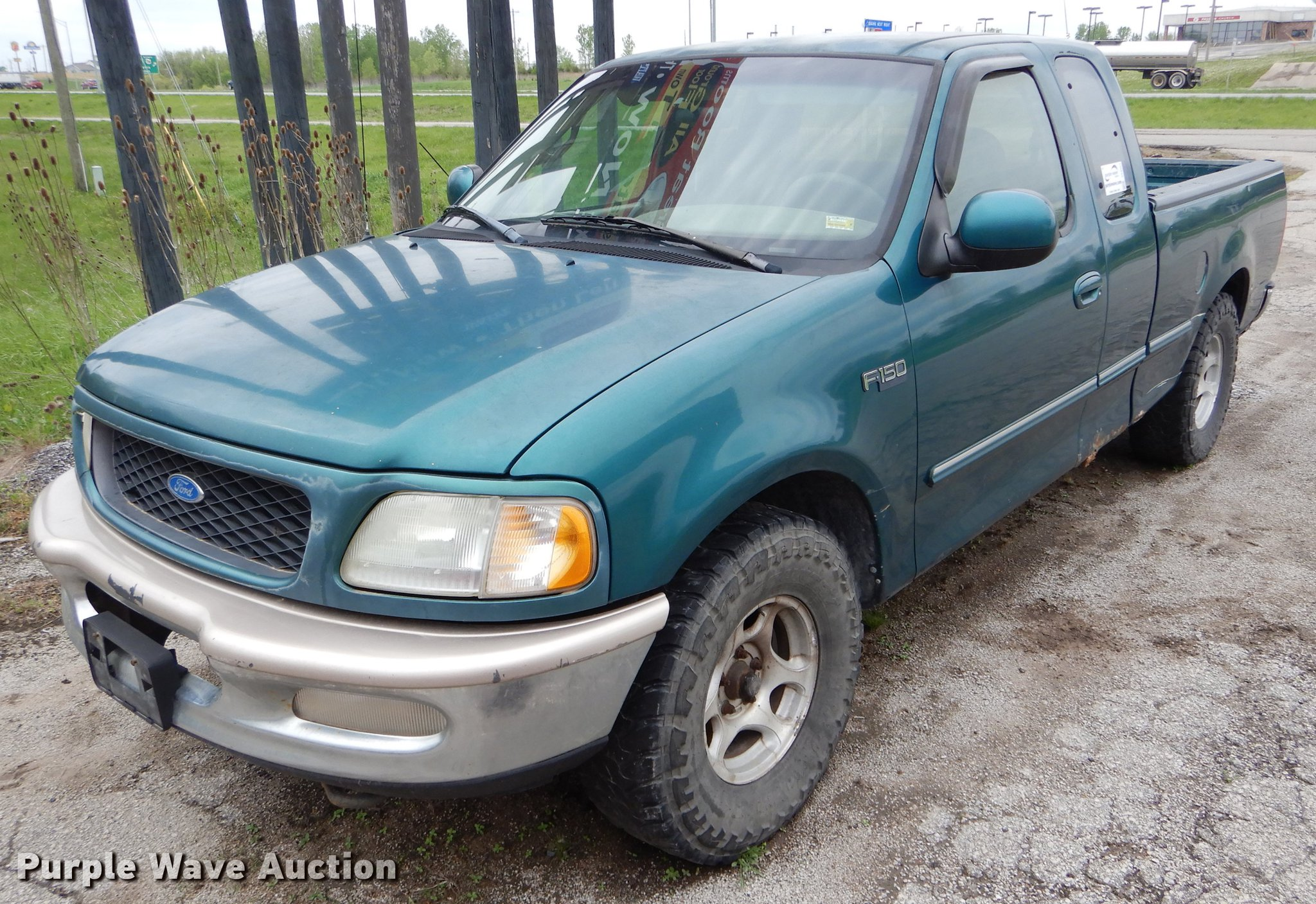 1997 Ford F150 Supercab Pickup Truck Item De8363 Wednesd