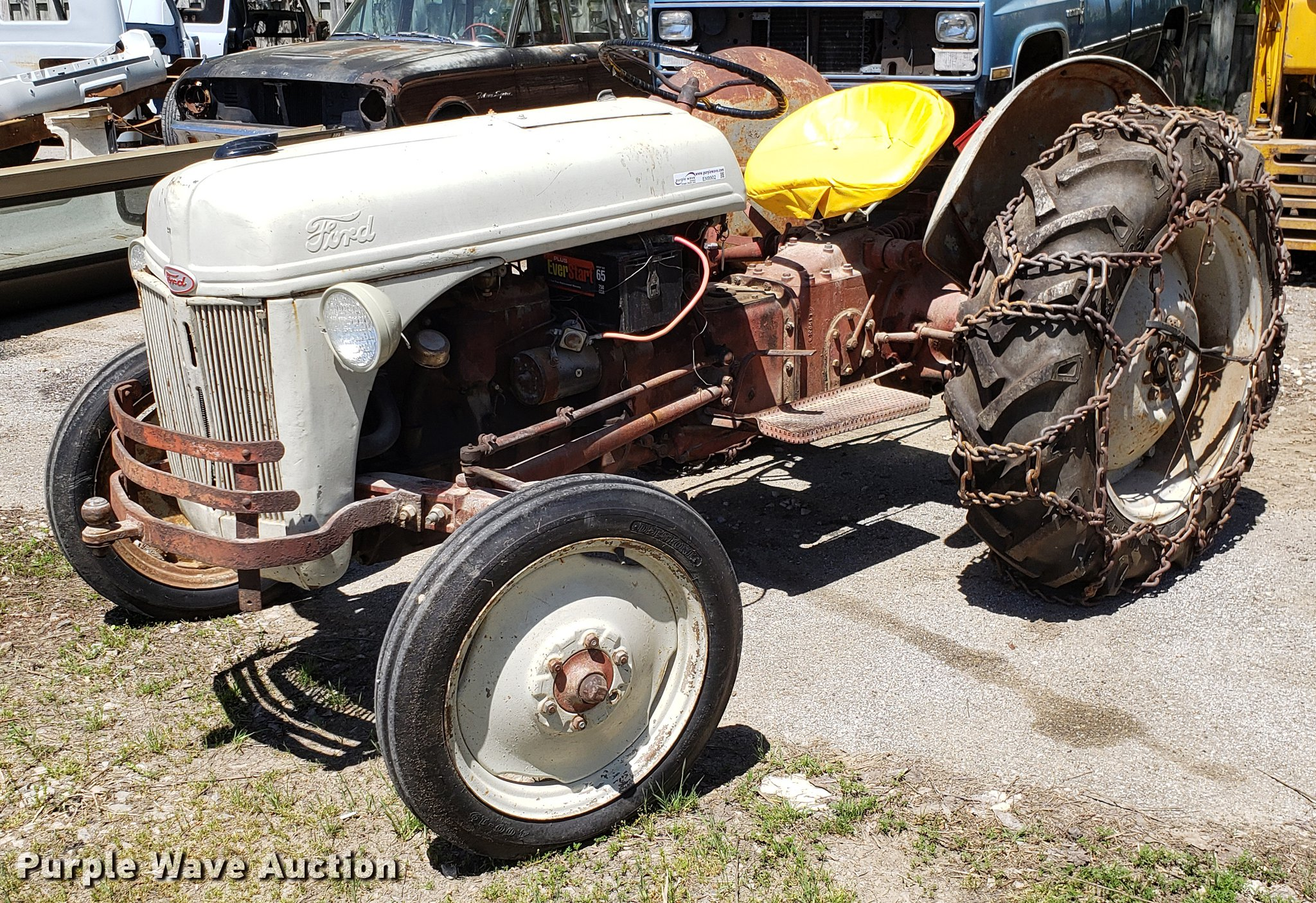 Ford 8N tractor   Item EN9902   Wednesday May 22 Vehicles an