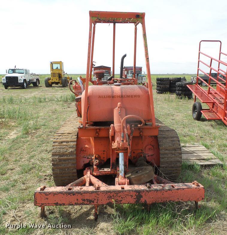 Allis Chalmers Ts5 Tractor Shovel Track Loader