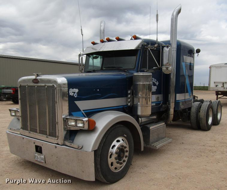 2002 Peterbilt 379 Semi Truck In Hereford Tx Item Fj9647 Sold Purple Wave