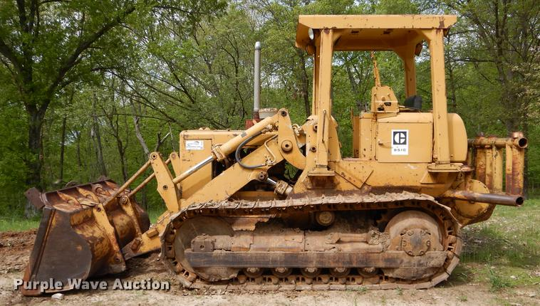 Caterpillar 951c Track Loader