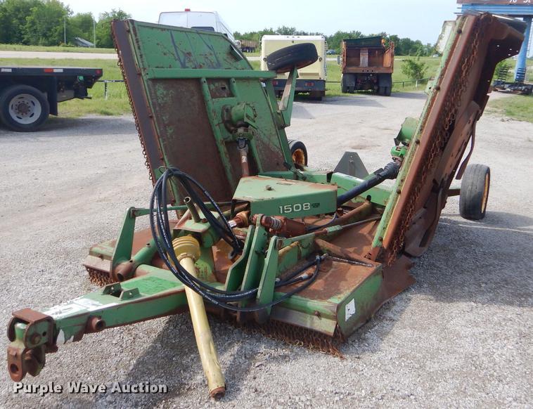 John Deere 1508 batwing rotary mower | Item FH9412 | SOLD! J