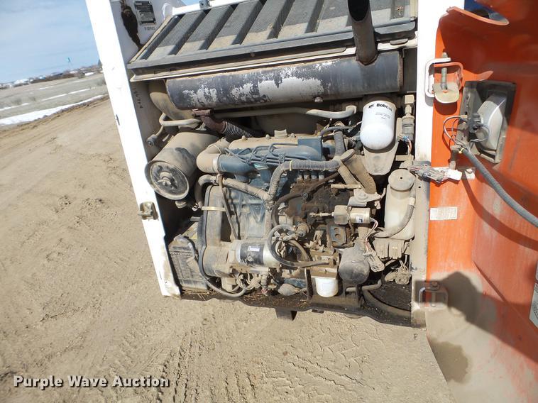 1997 Bobcat 763 skid steer | Item FM9255 | SOLD! June 18 Gov