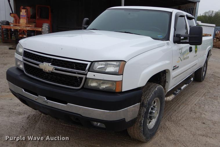 2006 Chevrolet Silverado 2500hd Ext Cab Pickup Truck Item