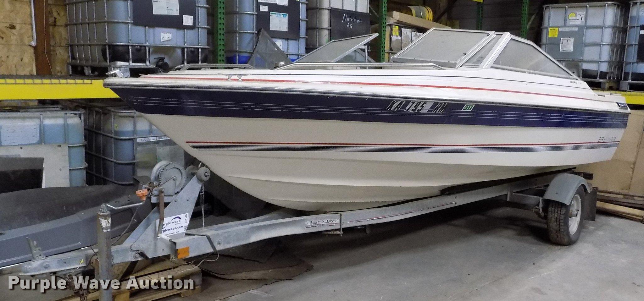 1985 Bayliner Capri boat with trailer in Scandia, KS | Item DE1186 for sale  | Purple Wave | Bayliner Capri Volvo Penta Fuel Filter Location |  | Purple Wave