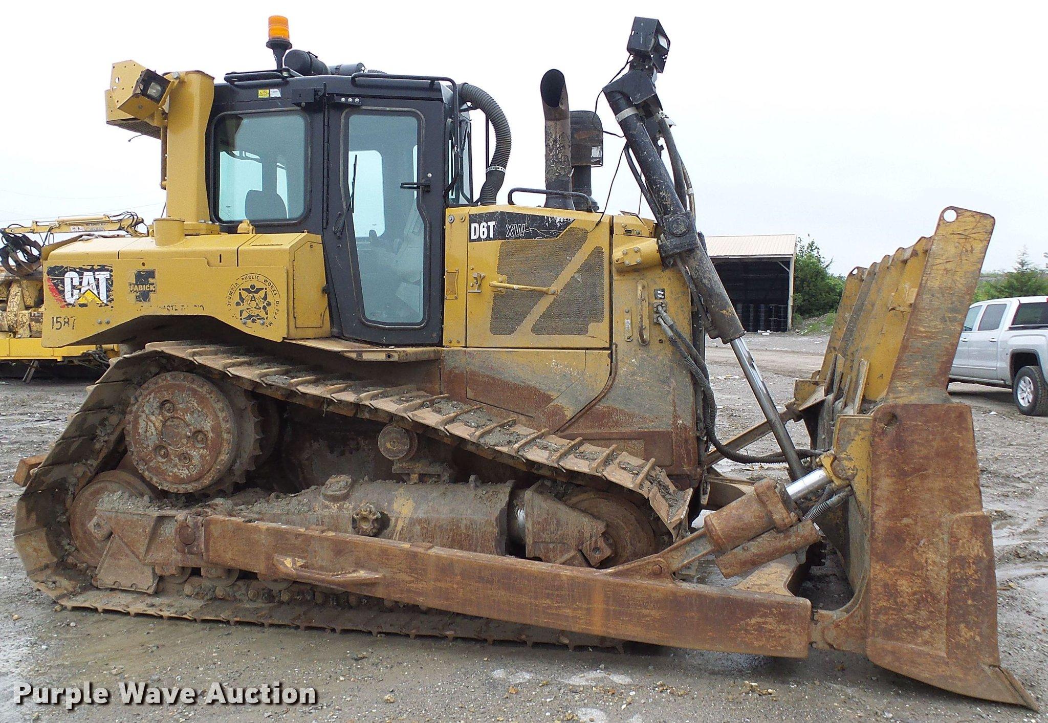 2012 Caterpillar D6T XW dozer | Item DF7299 | Thursday June
