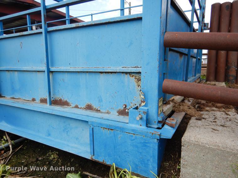 Sooner PLSW2410-10 livestock scale | Item DG5795 | SOLD! Jun