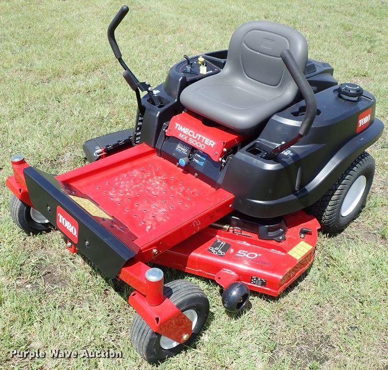 Toro Time Cutter MX5000 ZTR lawn mower | Item FB9139 | Wedne