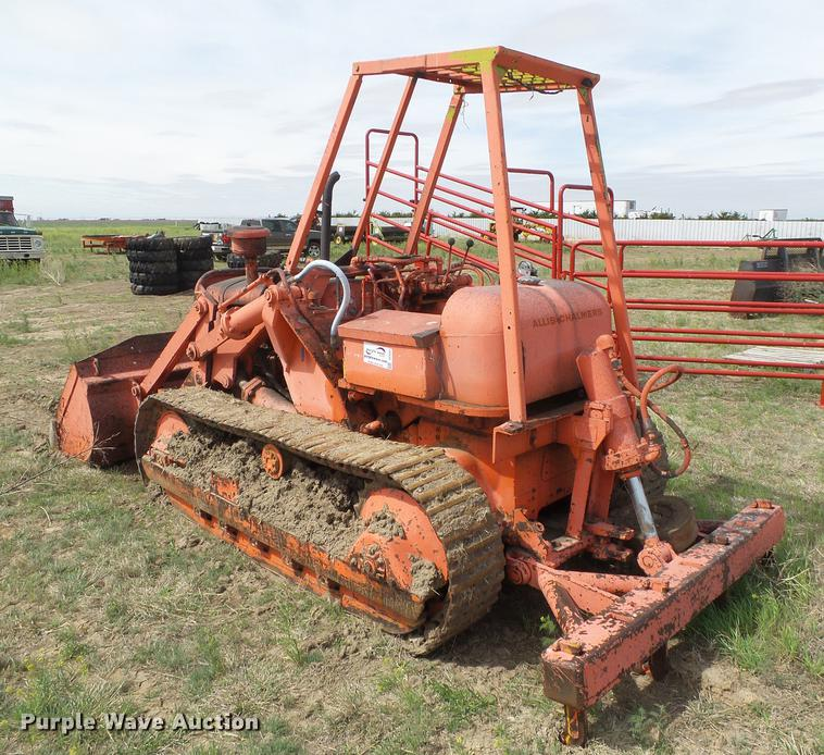 Allis Chalmers Ts5 Tractor Shovel Track Loader In Sublette