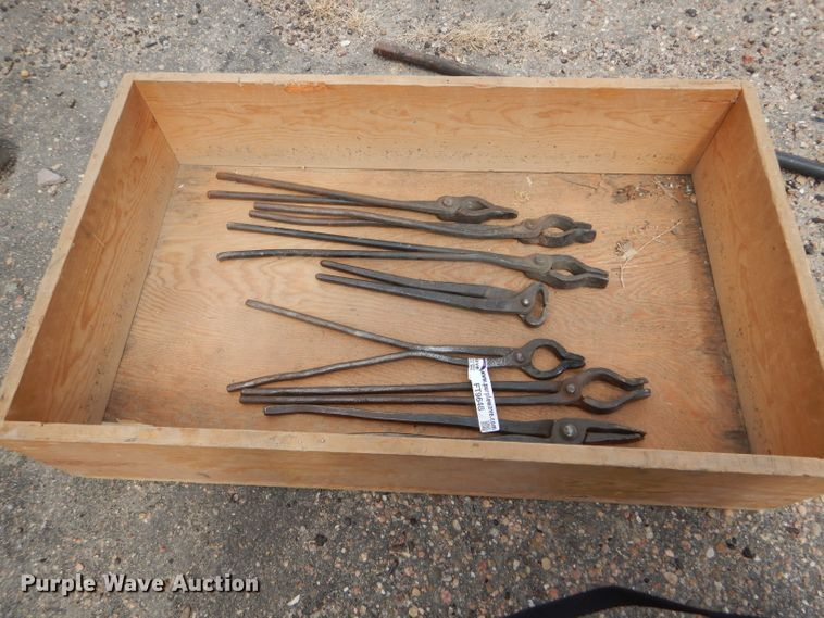 Blacksmith tools | Item FT9648 | Tuesday July 23 Government