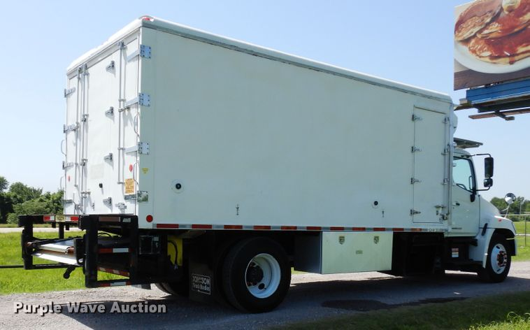 2008 Hino 338 refrigerated delivery truck | Item FI9871 | We