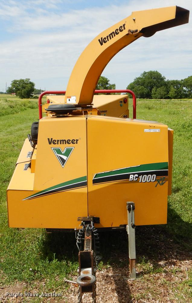 Vermeer BC1000XL wood chipper | Item FT9605 | Wednesday July