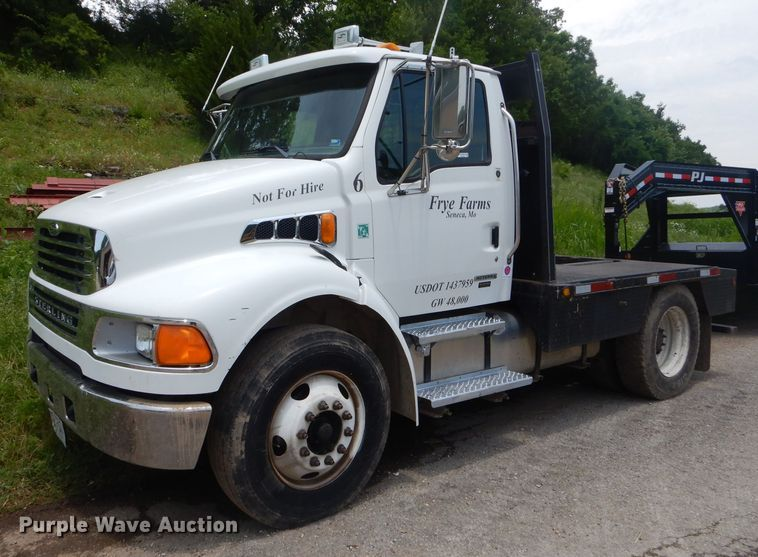 2007 Sterling Acterra flatbed truck | Item ED9355 | Thursday