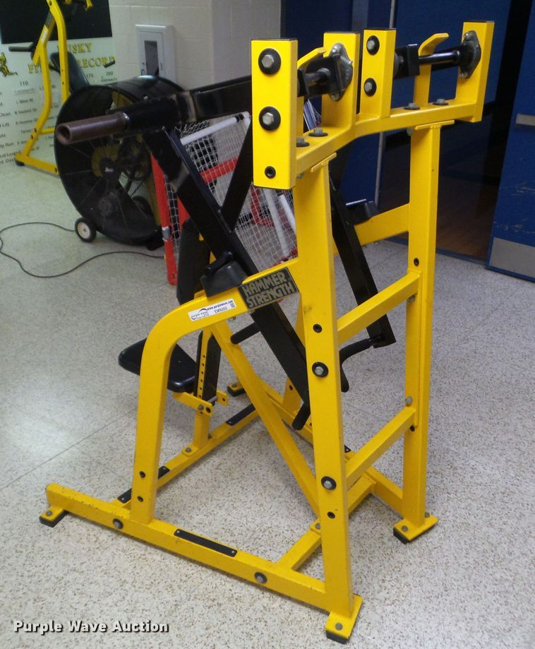 Hammer Strength lateral row | Item EM9202 | SOLD! August 6 G