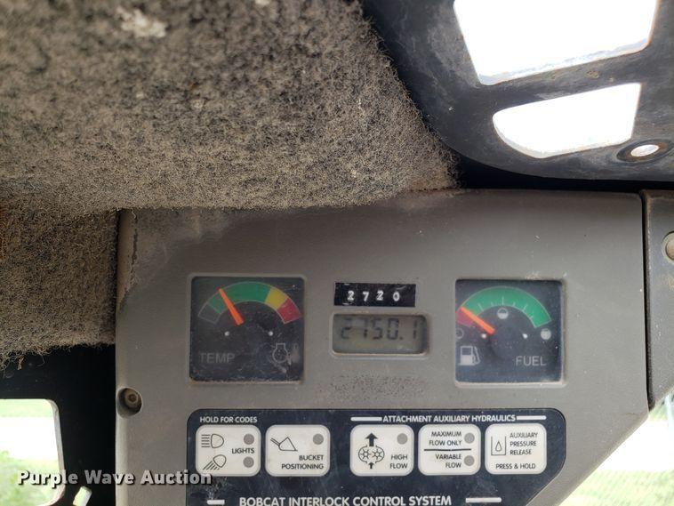 Bobcat S150 skid steer   Item FL9058   Wednesday August 7 Ve